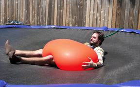 Slow Motion 6 Foot Waterballoon