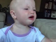 A Baby Crying In Slow Motion