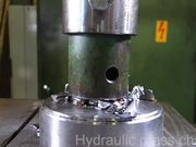 Crushing Things With A Hydraulic Press