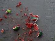 Watermelon Smash in Slow Motion