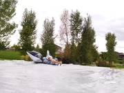Lawn Mower Slip N Slide