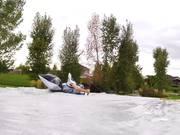 Lawn Mower Slip N Slide