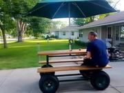 Worlds Fastest Picnic Table