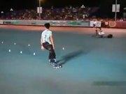 Amazing Rollerblader