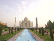 Handheld Shot of the Taj Mahal