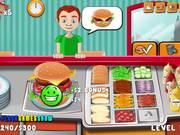 Burger Time Walkthrough