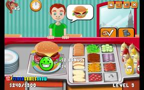 Burger Time Walkthrough