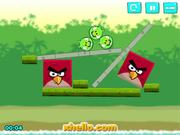 Angry Birds Kick Piggies Walkthrough