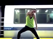 Girl Learns To Dance