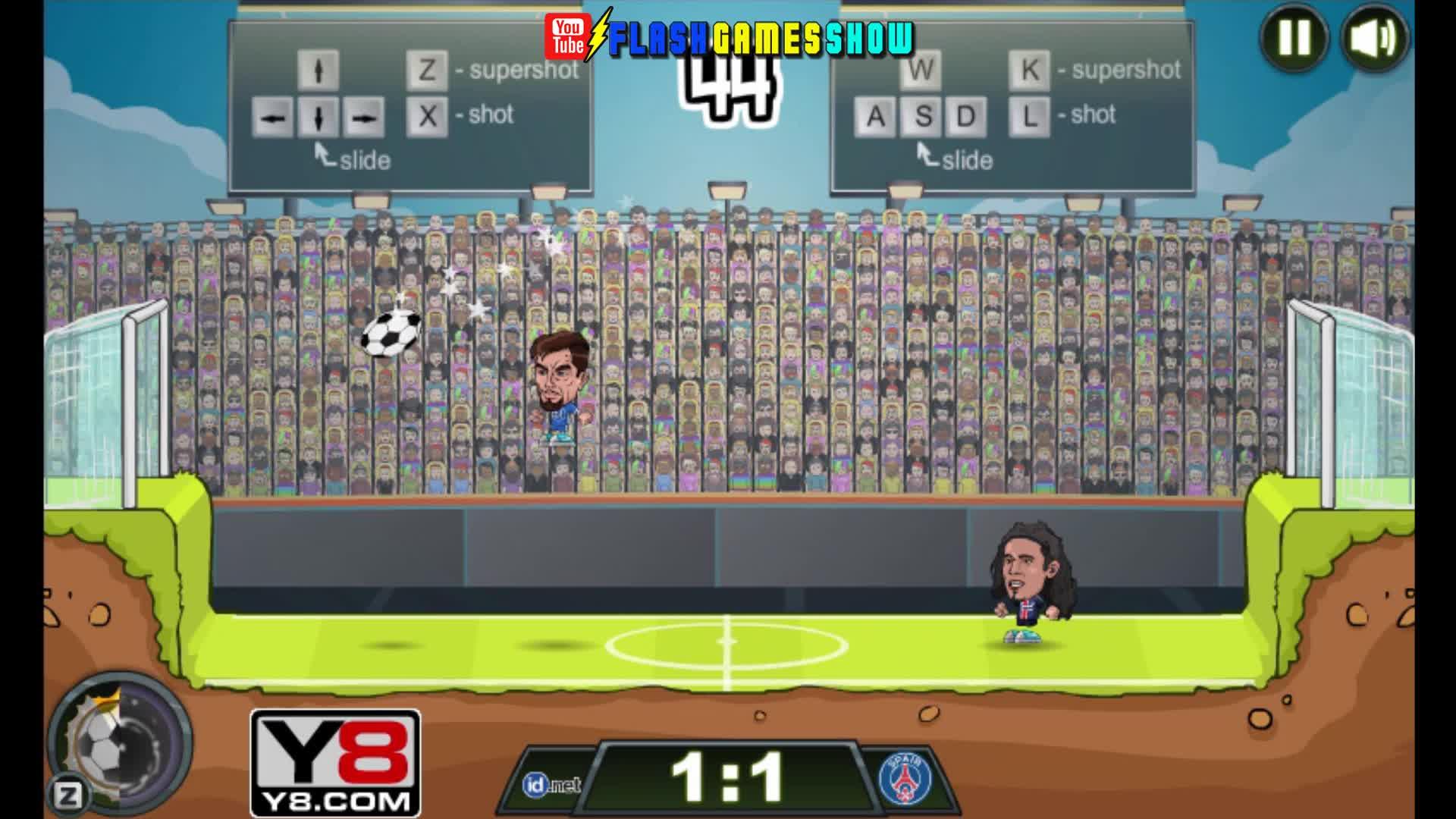 Football Legends 2016 Walkthrough Video Watch at Y8
