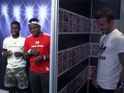 Adidas Campaign: David Beckham Pops Up
