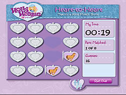 Hollie Hobbie and Friends - Heart to Heart: Two of A Kind Match Game