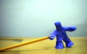 Plasticine Test Animation (2004)
