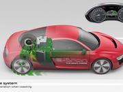 AUDI R8 e-tron technical animation