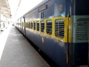 Train Leaving Secunderabad Railway Station