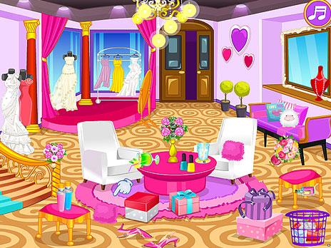Clean up Wedding Salon