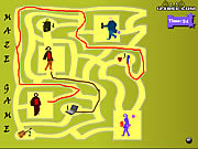 Maze Game - Game Play 10