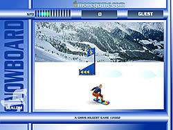 Snowboard Slalom