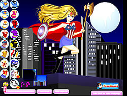 Supergirl Dress-Up 2