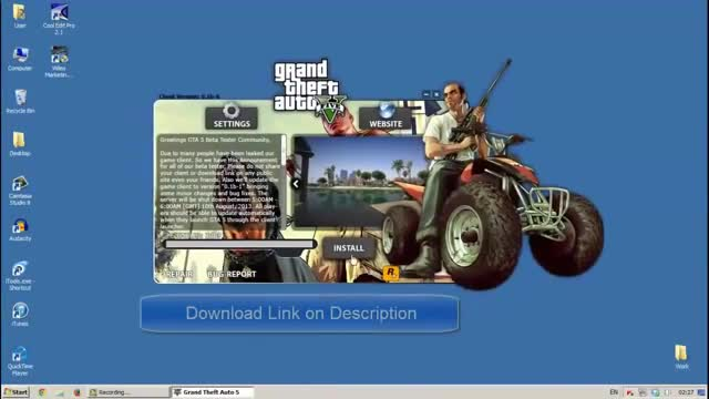 Grand Theft Auto 5 Full Game PC and Install Video - Watch at Y8.com