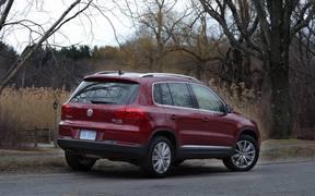 2014 VW Tiguan Test drive