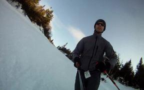GoPro Hero Test Run, Smuggs, New Year's Eve