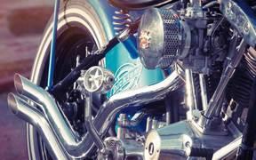 Harley Davidson Custom Bike, Hard Work