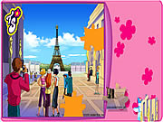 Totally Spies Puzzle - Eiffel Tower