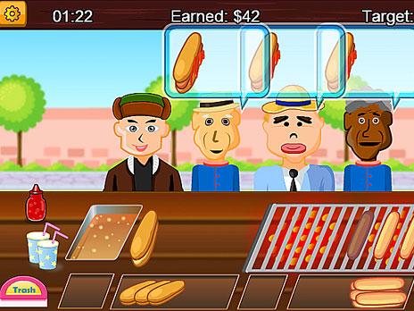 Juega Hotdog Shop En Linea En Y8 Com