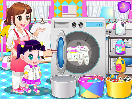 Children Laundry