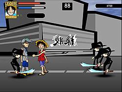 One Piece - Luffy vs CP9