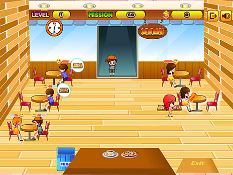 Restaurant Food Serving Games Online