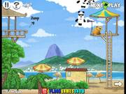 3 Pandas In Brazil Game Walkthrough
