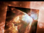 Zoom on the Bug Nebula
