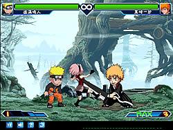 Anime Fighting Jam Wing Game
