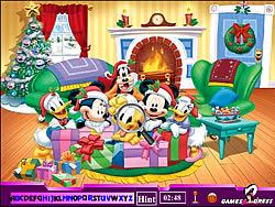 Hidden Alphabets - Mickey Mouse