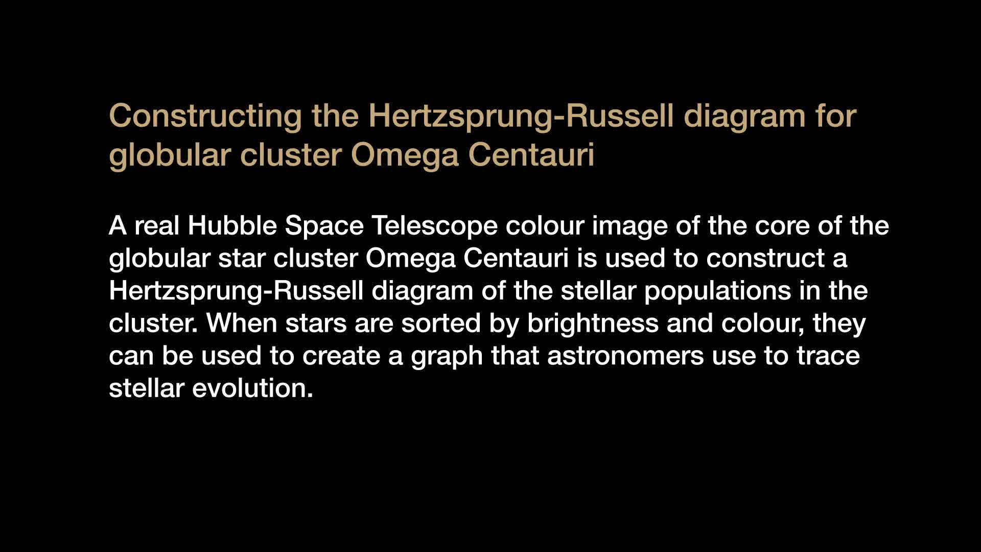 Hertzsprung russell diagram animation video watch at videotime video thumbnail pooptronica