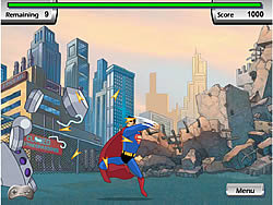 Justice League Training Academy - Superman