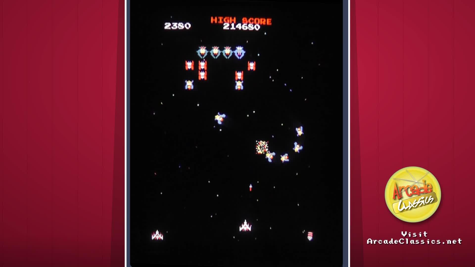 Galaga Arcade Game Video Watch at Y8