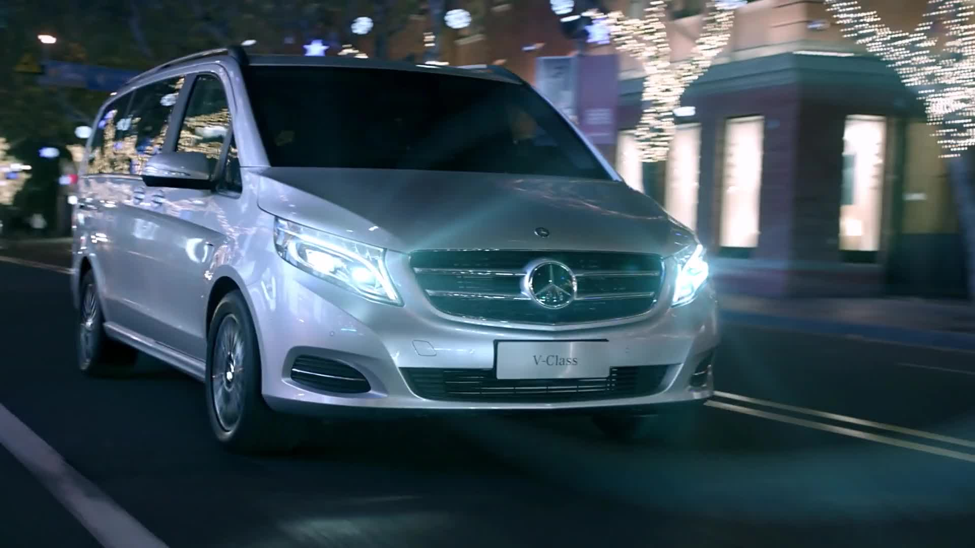 Mercedes Benz V Class Video Watch at Y8