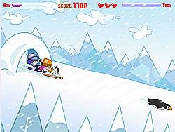 Hi Hi Puppy Ami Yumi - Snow Scooter