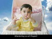 MTS India Commercial: Baby Visits God