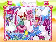 Princess Ariel Hexagon Puzzle