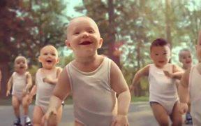 Evian Video: Roller Babies