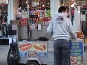 Hot Dog Stand NYC