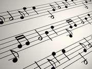 Musical Notation Background Loop Close Up