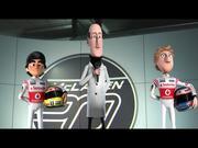 McLaren Video: Tooned 50