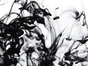Ink Flow Close Up