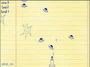 Doodle Galaxy Invaders
