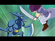 Ninja vs Robot